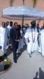 Congregation of the Shilonite Gospel Church of Christ of Cherubim and Seraphim hosts Ooni5