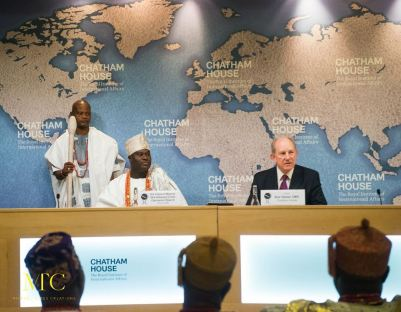 OONI AT THE CHATHAM HOUSE